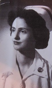 Margie Oppenheimer as nurse after WWII (AP Photo/Courtesy Margie Oppenheimer)